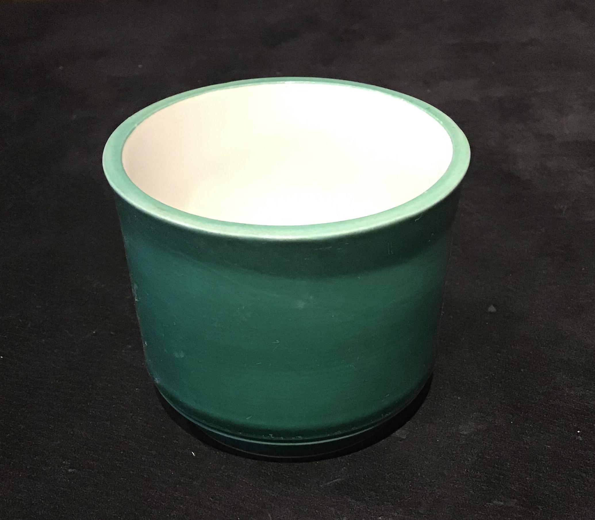 在庫処分特価! 加藤幸兵衛窯 緑コーチ竹珍味小鉢